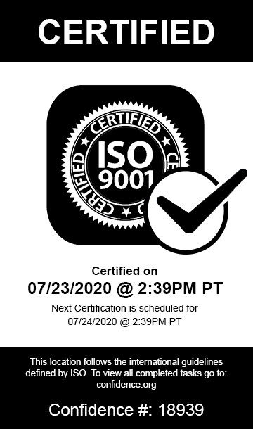 Manufacturing ISO 9001